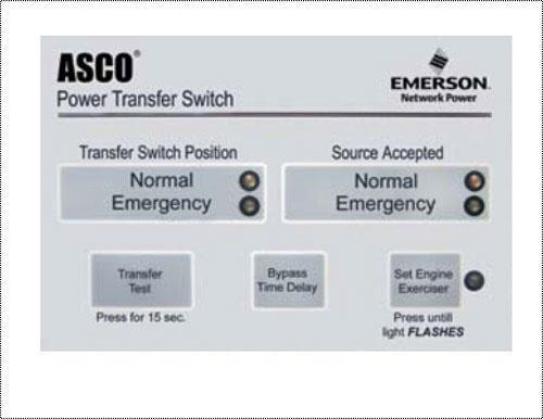 Asco 600 amp ATS Automatic Transfer Switch
