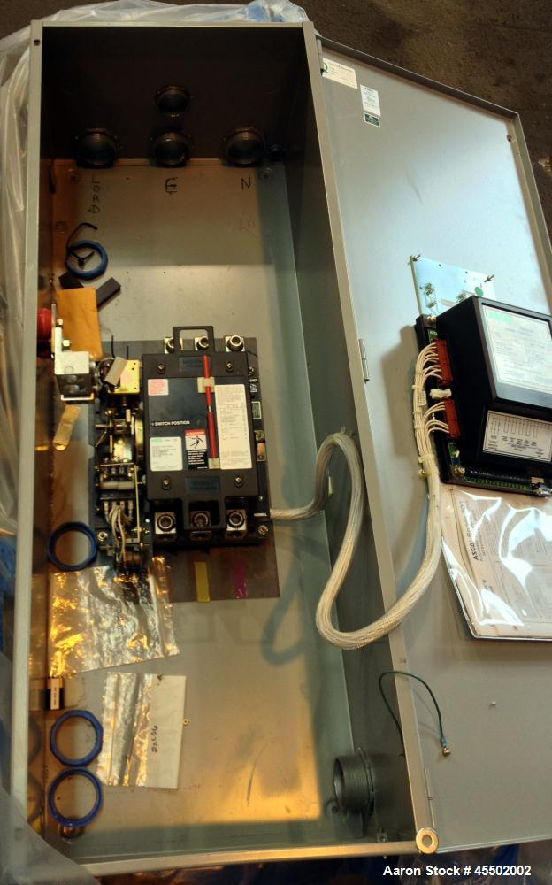 Used-Asco 400 Amp Automatic Transfer Switch.