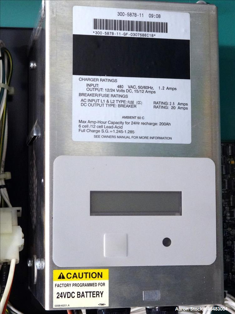 Used- Cummins Power Command 600 Amp service entrance rated ATS automatic transfer switch 3/60/277/480V. Cummins model BTPCC-...