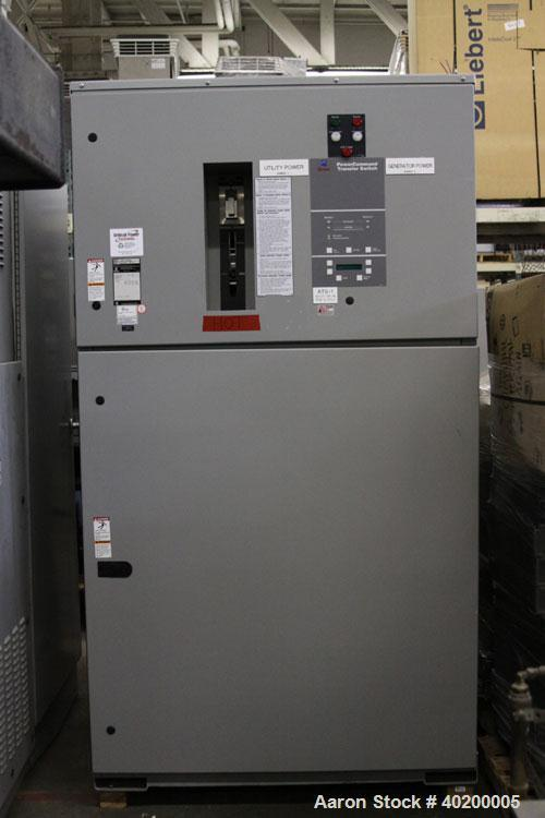 Used-Cummins / Onan PowerCommand 3000 Amp ATS / automatic transfer switch with isolation bypass, 3/60/480V, model BTPCH-4492...