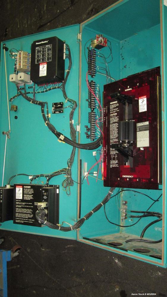 Used- Cummins 400 AMP Automatic Transfer Switch, Model OTCU 400G, Serial #930506997.  3/60/480V.  Nema 1 enclosure.