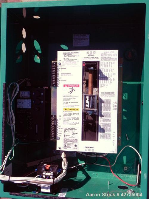 Used- Cummins / Onan 125 Amp Automatic Transfer Switch, model OTPCA-4964187, serial #H010268941. 3/60/480V. Type 1 enclosure.