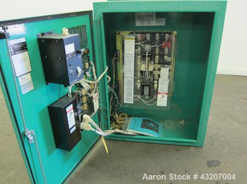 Used- Cummins / Onan Power Command Automatic Transfer Switch, 150 Amp, Model OTPCB-4487379, serial# H000141402. 4 Pole, 3/60...