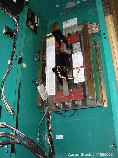 Used- Cummins / Onan 600 Amp Automatic Transfer Switch, Model OTC-3383804, Serial#-J990006327. 3/60/480V, Nema 1 enclosure.