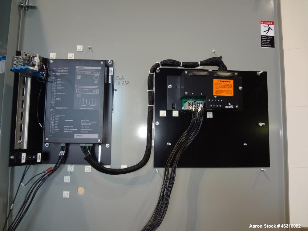 Used- GE Zenith Controls Automatic Transfer Switch, Model ZG1DA16031-07E602X, 1600 amp, 3/60/277/480 volt. Serial #1562147.