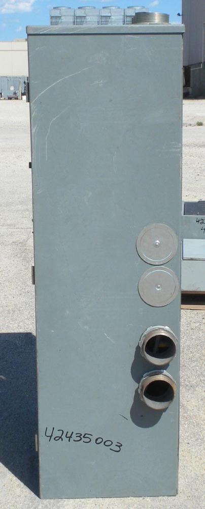 Used- Kohler Automatic Transfer Switch, model K-166343-800. 800 Amp, 3/60/480 Volt.