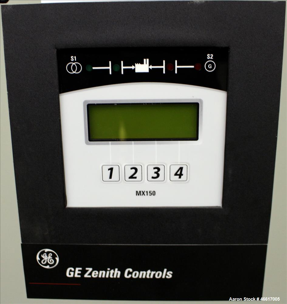 Used- GE Zenith Automatic Transfer Switch, 80 Amp. 3/60/277/480 volt. Serial# 1594071-1.