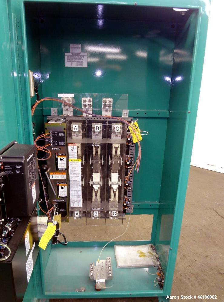 Used- Cummins/Onan Automatic Transfer Switch, Model OTE-3369913. 1200 Amp. 3/60/480 volt. Serial# D990901926.