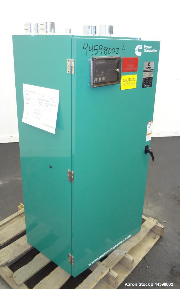 Used- Cummins / Onan 400 Amp Automatic Transfer Switch, Model OTECC-7174604, serial #F080189172. 3/60/480V. Type 1 enclosure.
