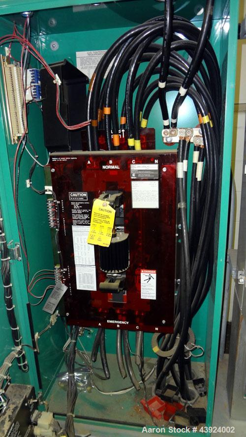 Used- Onan Transfer Switch, 600 Amps, Model OT 600.  3/60/480 Volt.  Serial  #H940551745.