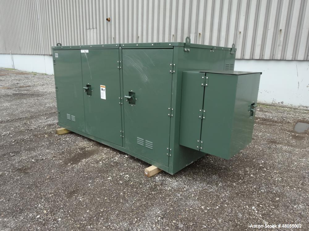 Used- G & W Electric Padmount Style Gas Insulate Switchgear, Catalog# PVI42-376-20-9F, 15.5 KV. Serial# 2011 1026 0002, buil...