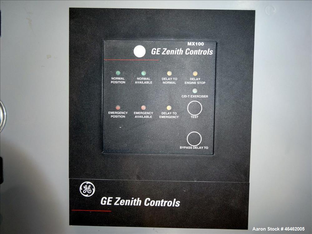 Used- GE Zenith Controls Automatic Transfer Switch