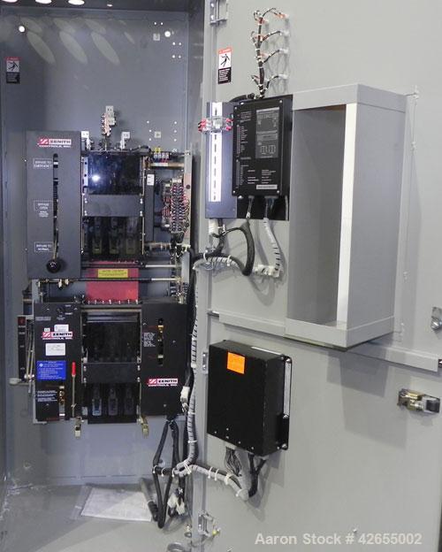 Used- Zenith Entelli-Switch 250 Automatic Transfer Switch, Model ZBTSDL22EC-5, Serial #1328657, 480V, 225 Amps, 3 Phase, 60 ...