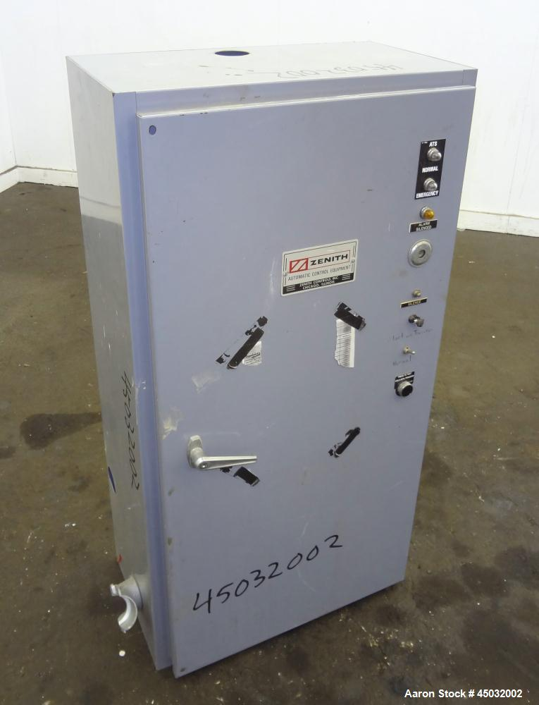 Used- Zenith ZTS Series Automatic Transfer Switch