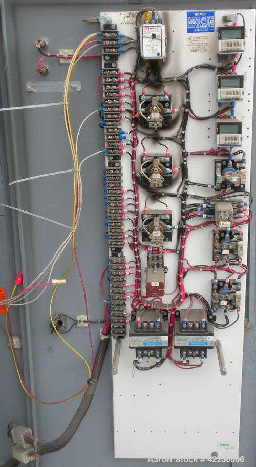 Used- Zenith Controls Automatic Transfer Switch, 400 amp, 3/60480V, model ZTS41EC-7AAAAELLPTUW, serial #169171.