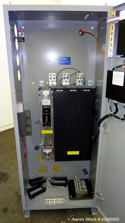 Used- Zenith Controls Automatic Transfer Swtich, 1200 Amp, Model ZTSC120EC-7, Serial# 1316188.1.3. System volts 277/480. 3/6...