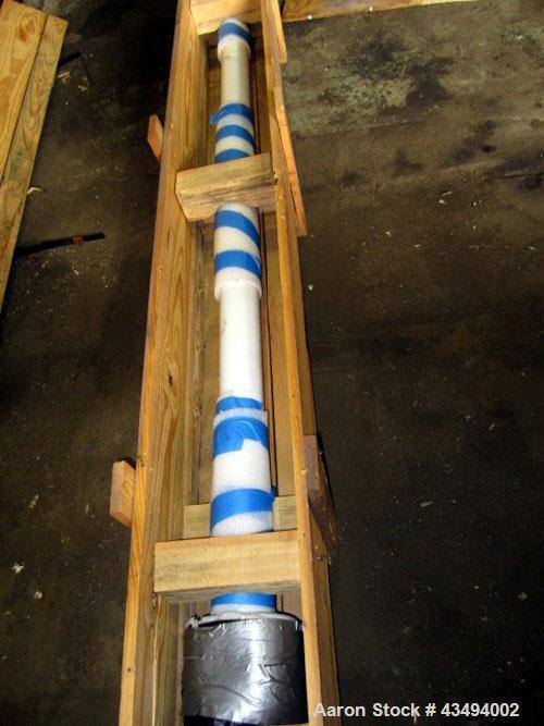 Used: Pfaudler 3-blade retreat curve agitator 7RW-4000GAL
