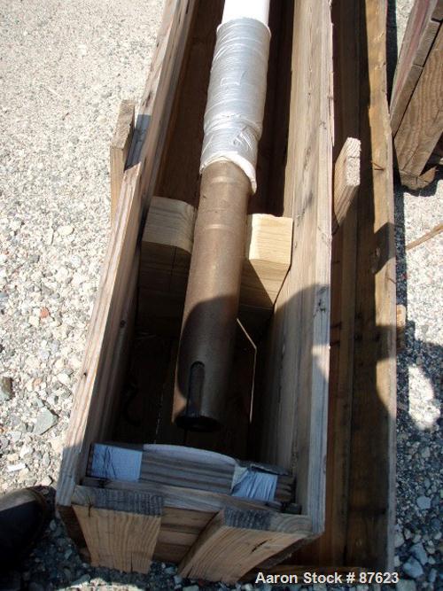 "Unused-REGLASSED: Dedietrich 2000 gallon 3-blade retreat curve agitator. 150"" x 44"" x 3"". White glass. PTE-08 drive."