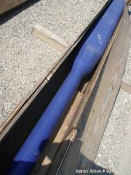 Used- Dedietrich Glass Lined Beaver Tail Baffle for a RA-96 3000 Gallon Reactor