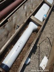 """Used:3000 gallon 5"""" X 120"""" X 16"""" span """"H"""" baffle with 6"""" tip"""