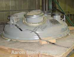 """Used-UNUSED- Dedietrich 48"""" Top Cover For a 300 Gallon Reactor. No bosses. It is a receiver type head."""