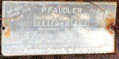Used- Pfaudler 5RW double reduction agitator drive, model FMDDWV-50500-EJD