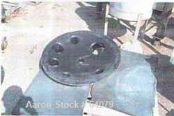 "Unused-UNUSED REGLASSED: Glass lined reactor cover, 100 gallon. For use witha ""P"" series 100 reactor."
