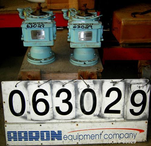 Unused-New Pfaudler gearbox, model DWV50210AKC, ratio 10:1. Has a rating of 3.73. For a 2.5 DTW varispeed drive assembly. No...