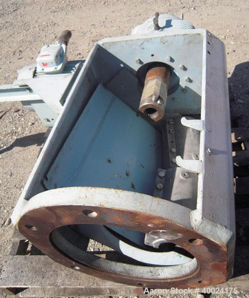 Used- Pfaudler Agitator, Size 6SRW, Model FDWV52600-7B. Ratio 18 to 1. Driven by a 3.3-20 hp, 3/10-60/38.5-230/77-460 volt, ...