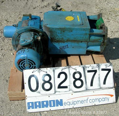 USED: Pfaudler agitator drive, model FMDWV-50400-EJD, size 4. Driven by a 5 hp, 3/60/230/460 volt, 1740 rpm XP motor. Gear r...