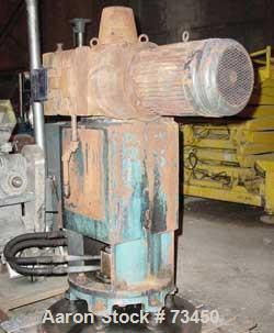 USED: Pfaudler 7RWFFG, model FMDWV-50700-EJD. 15:1 overall ratio double reduction drive assembly. Primary ratio 1.5:1, secon...