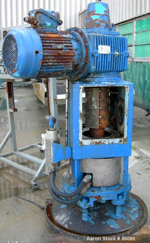 USED: Pfaudler FMDWV7 drive with 20 hp motor and lubricator.