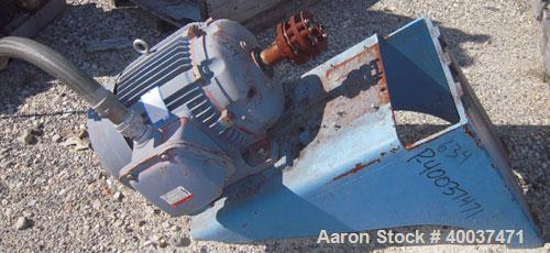 Used- Pfaudler Agitator Drive, Size 8, Model WFRDWV-50800-EJD, 14 to 1 ratio. Includes a 6.67-40 hp, 3/10-60/88-460 volt, 27...