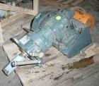 USED: Pfaudler cone drive single reduction 4DTW, model FDWV-50410-BJD. Ratio 15:1, fixed belt driven, motor 5 hp, 3/60/230/4...