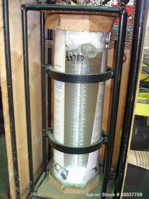 Unused- QVC Coil Condenser, Model HE9, 25 square feet. Glass construction, coil tube rated 40 psi at 300 degrees F, shell ra...