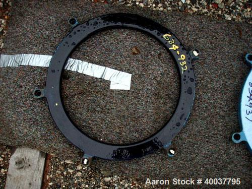 """Used- 18"""" Glass Lined Round Pro Ring."""