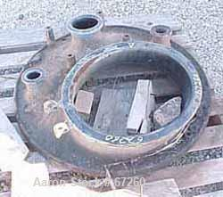 "USED: Pfaudler 30"" diameter great cover, 14"" x 18"" collar, (2) 2"", 4-3/8"" openings."
