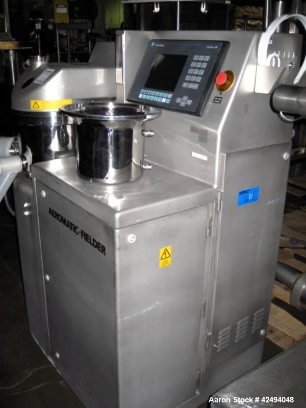 Used- Stainless Steel Aeromatic Fielder microwave high shear single pot processo