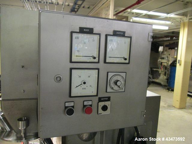 Used- Collette Mixer, Type Gral 10. 10 Liter capacity, serial# 90MG1051.