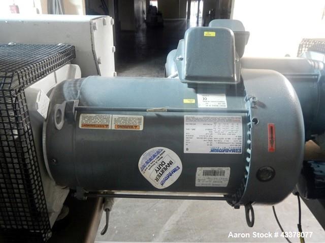 Used- Collette High Shear Granulator, Model ULTIMAGRAL 1200. Batch size range from 50 kg to 550 kg, with 150 hp 460 volt hyd...