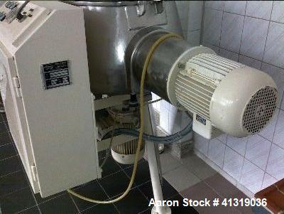 Used- Diosna High Intensity Mixer. Model P 100.