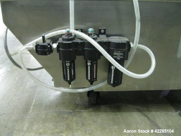 Used- Stainless Steel Niro Fielder NICA Spheronizer, Model S-450