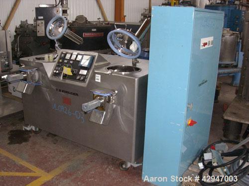 Used- T. K. Fielder Mixer Granulator System