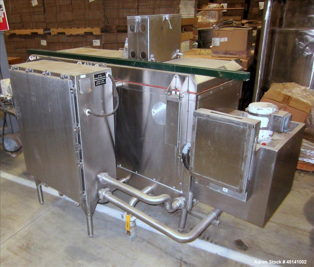 Used- Stainless Steel IQF Cryogenic Granulator, Model 400T