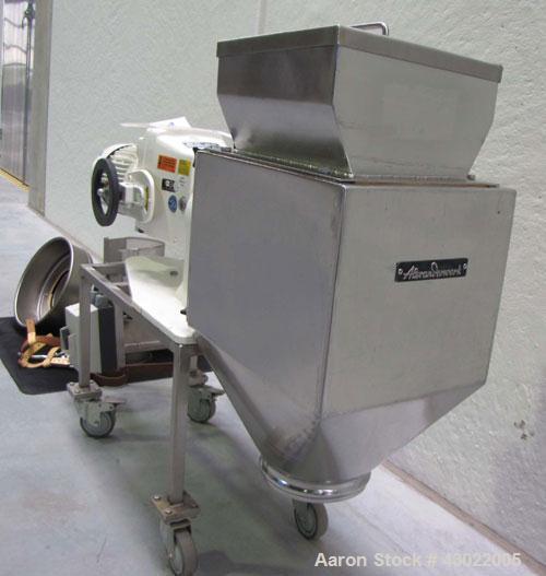 "Used-Alexanderwerk Rotor Fine Granulator.  For wet and dry granulation.  304 Stainless steel (1.4301).  Rotor diameter 5.9"" ..."