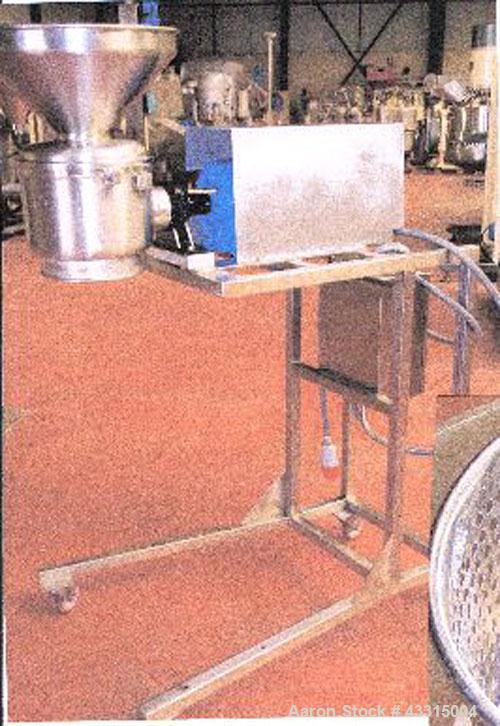 Used-Alexanderwerk Mobile Granulator for moist granulation