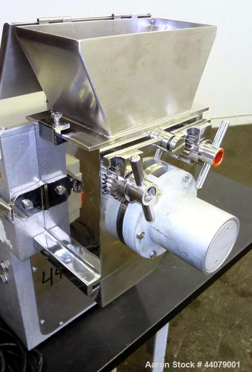 Used- Stainless Steel Frewitt GLA Oscillating Granulator, Type GLA-ORV-0512