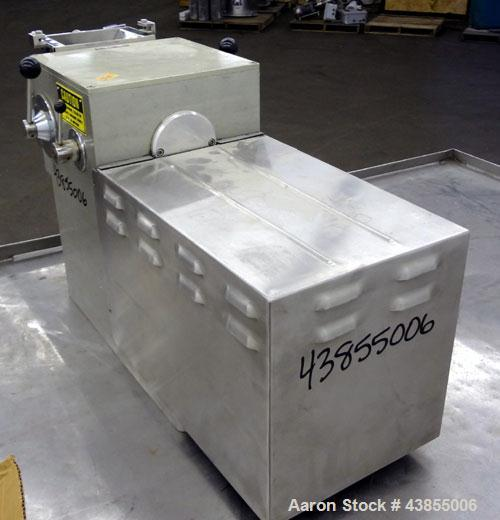 Used- Frewitt GLA Oscillating Granulator, Type GLAORV, 316 Stainless Steel. Approximate capacity up to 80 kg per hour depend...