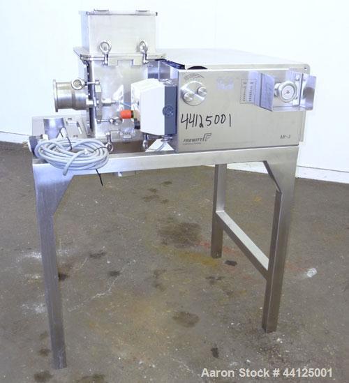 Stainless Steel Used- Frewitt Oscillating Granulator, Type MF-3