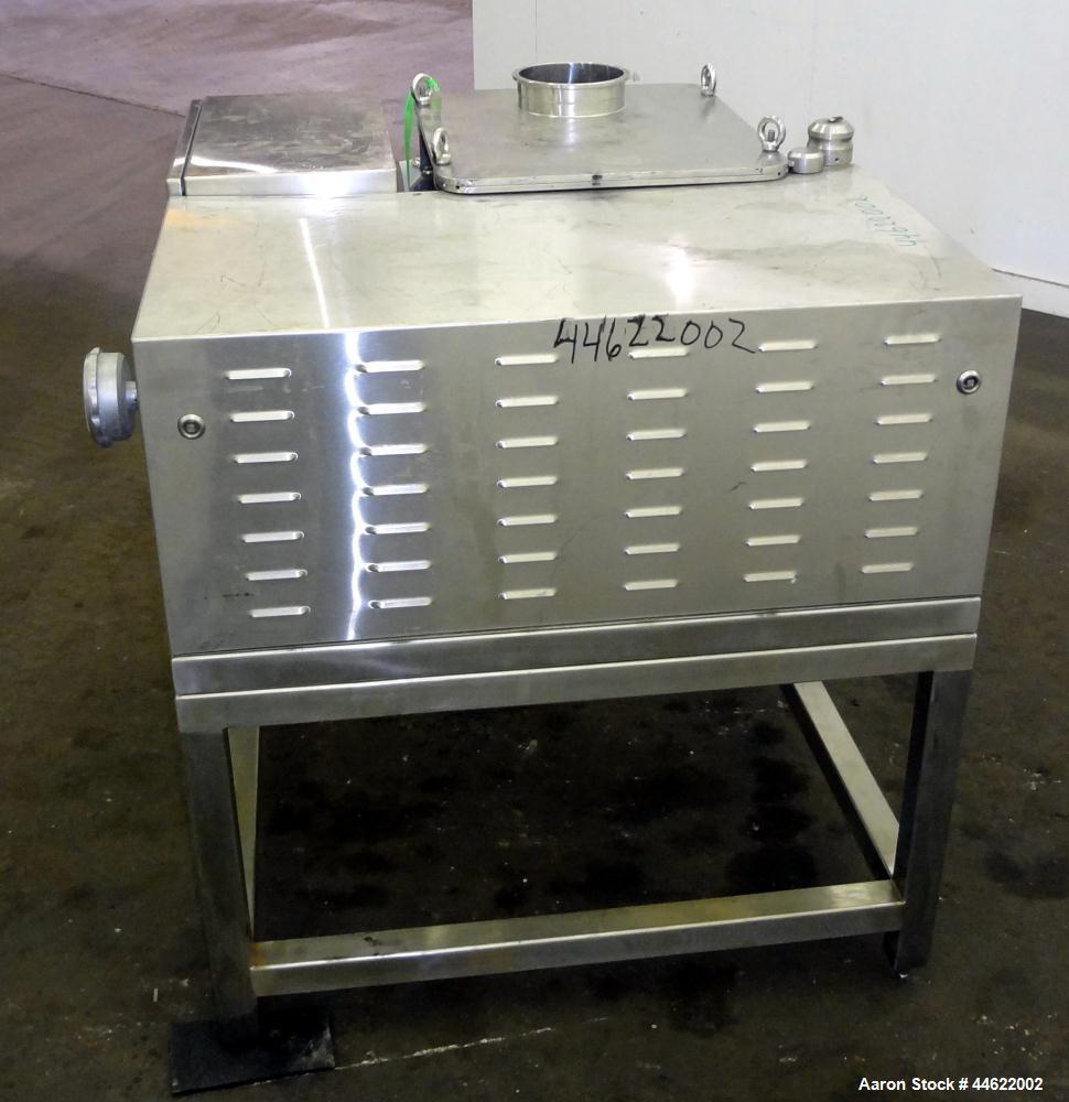 Used- Stainless Steel Frewitt MF Oscillating Granulator, Type MF-8